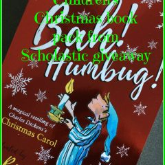 Christmas books giveaway from Scholastic