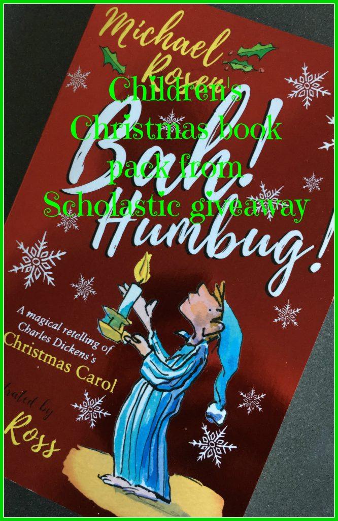 Bah! Humbug, Christmas book pack giveaway