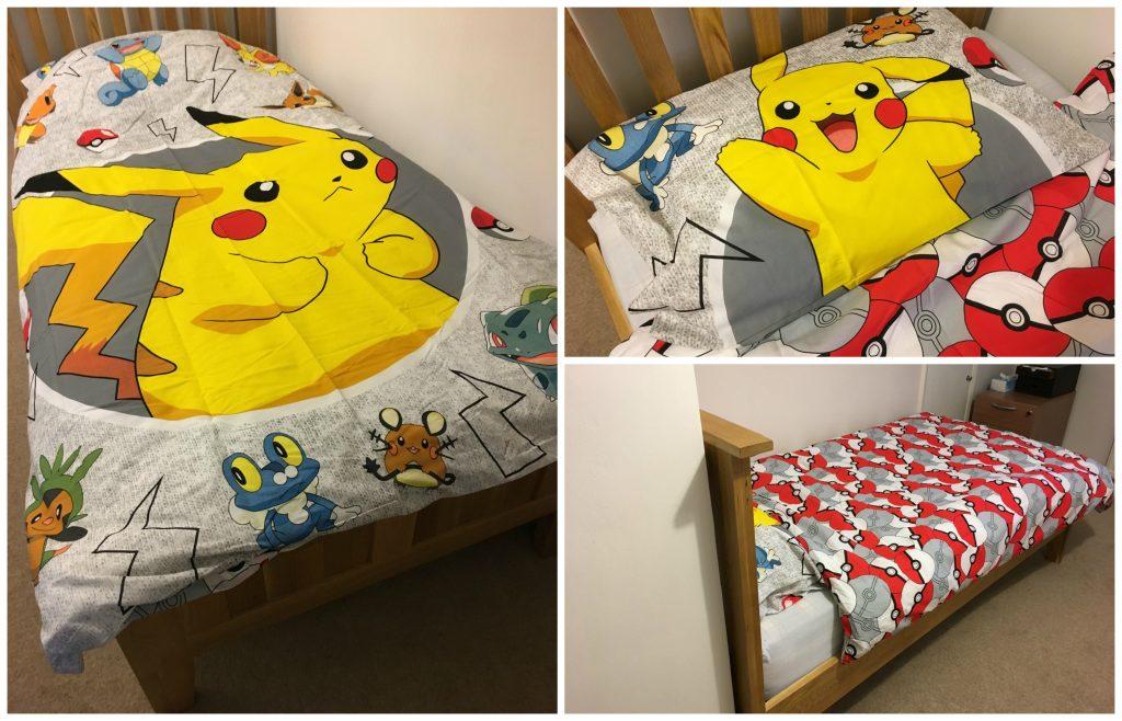 Pokemon bedding, Pokemon bedding giveaway, Pokemon duvet set