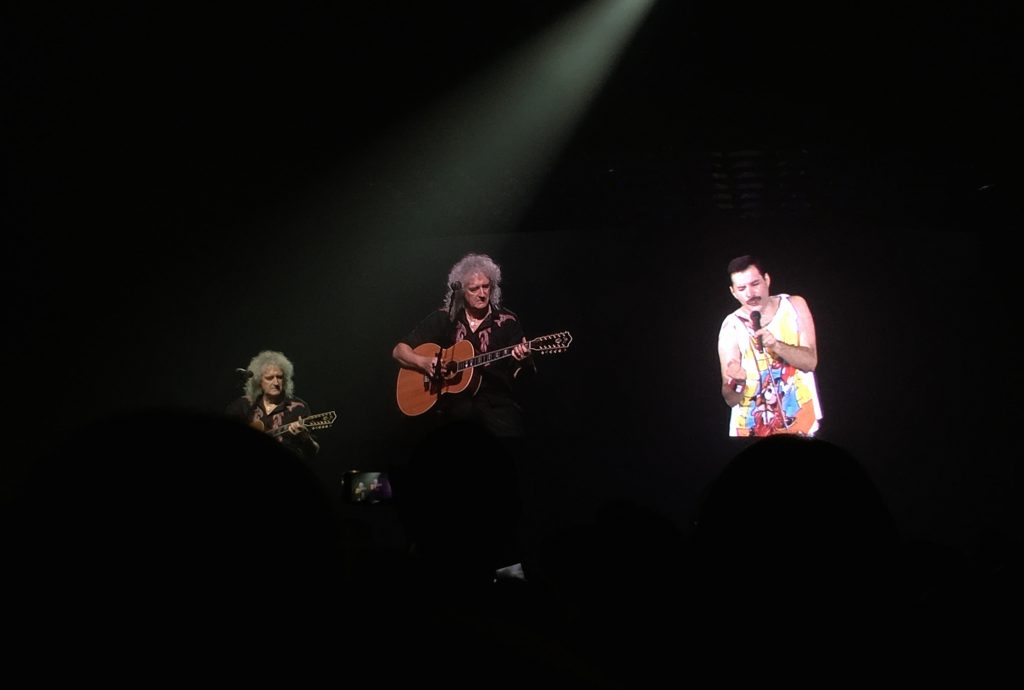 Queen, Adam Lambert, Freddie Mercury, Brian May, Silent Sunday, My Sunday Photo