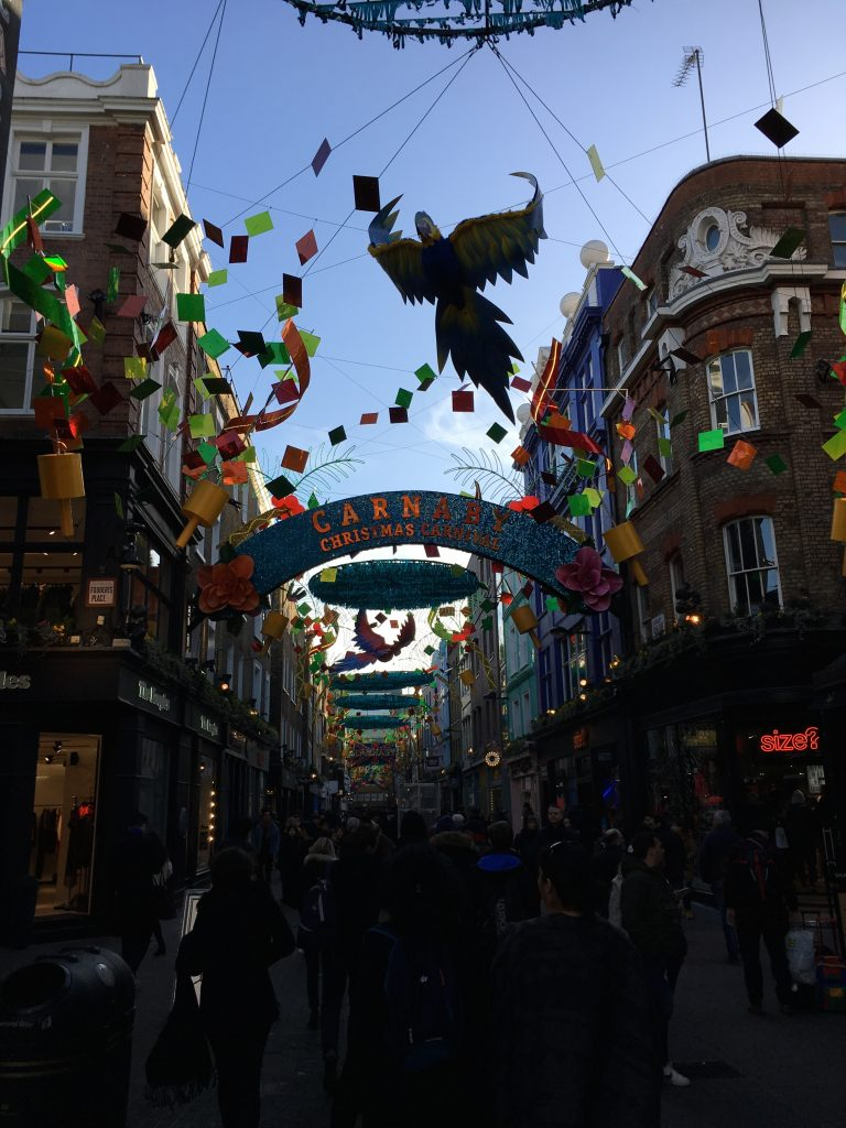 Carnaby Street, London, Christmas, 365, Boxing Day, Taking a break on Boxing Day