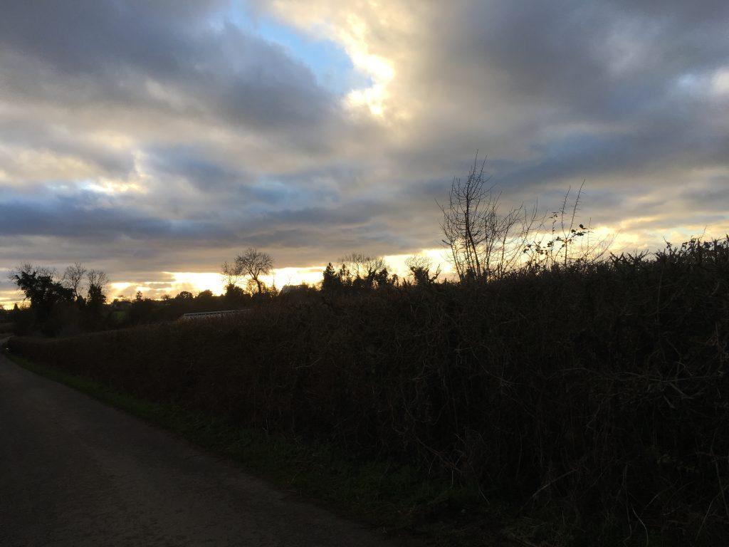 Landscape, Walking, Sunset, Winter, 365