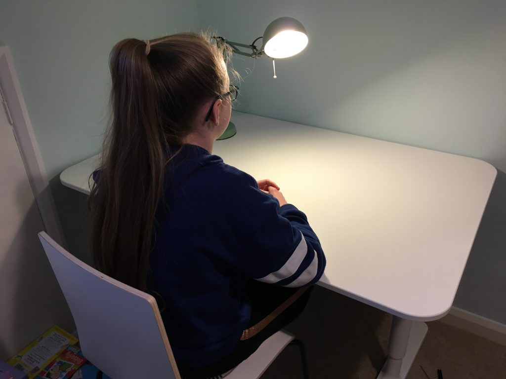 Daughter, Desk, Bedroom, 365