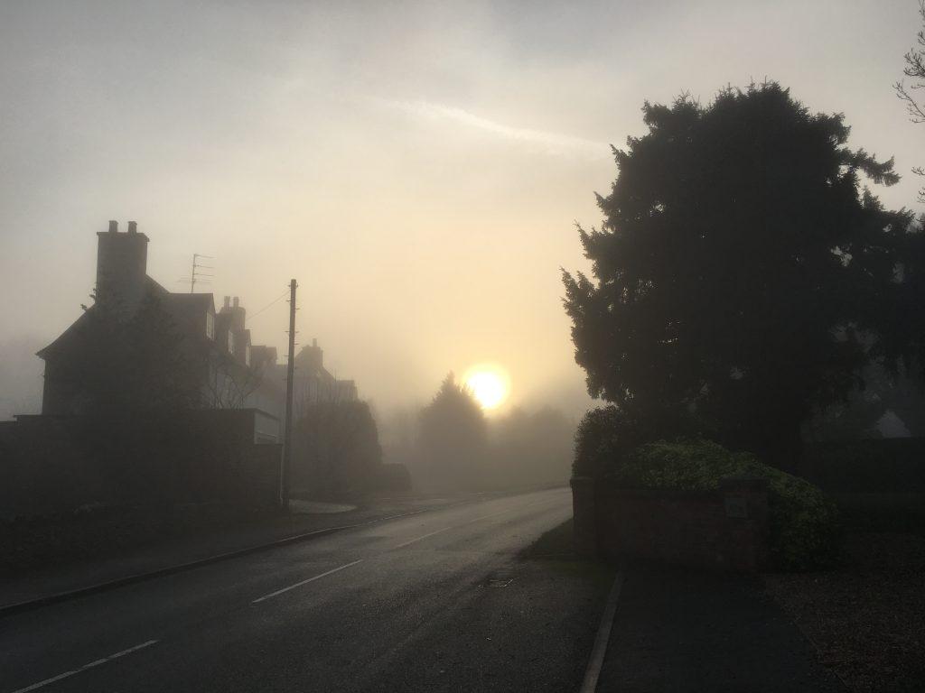 Foggy day, Silent Sunday, My Sunday Photo