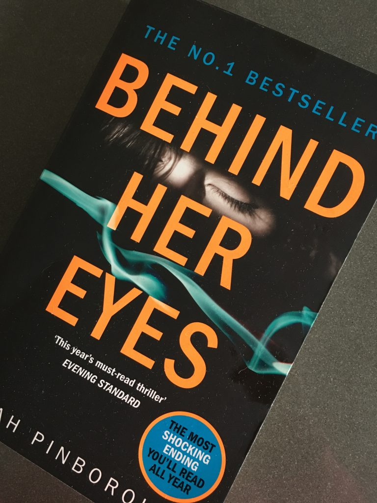 Behind Her Eyes, Book review, Sarah Pinborough, Behind Her Eyes by Sarah Pinborough