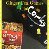 Ginger Fox Games Club – Corks and The Emoji Game