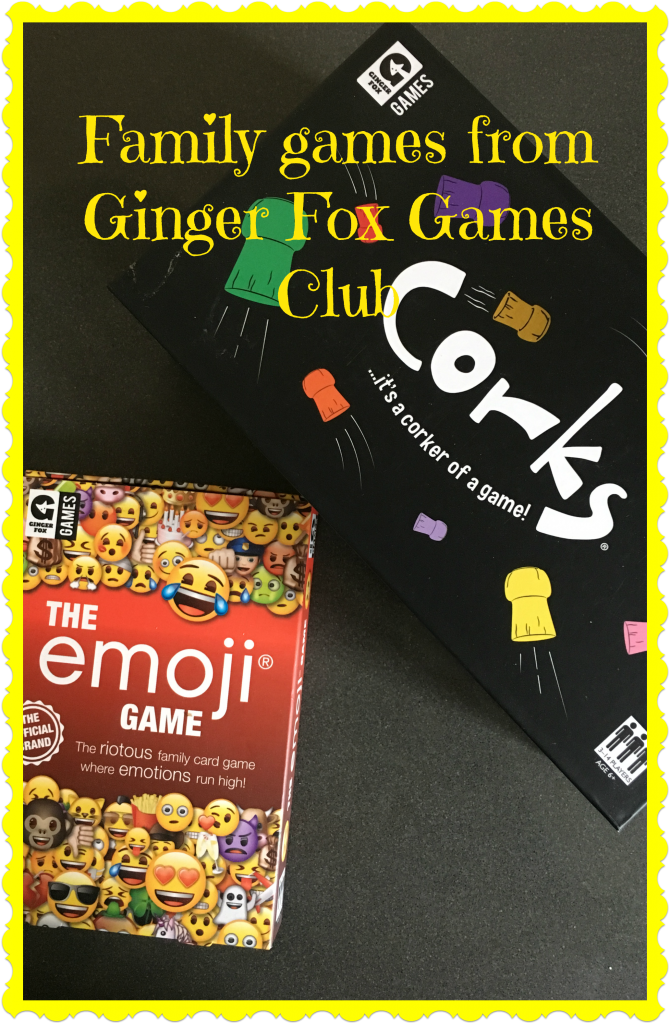Ginger Fox review, Family games, Ginger Fox Games Club