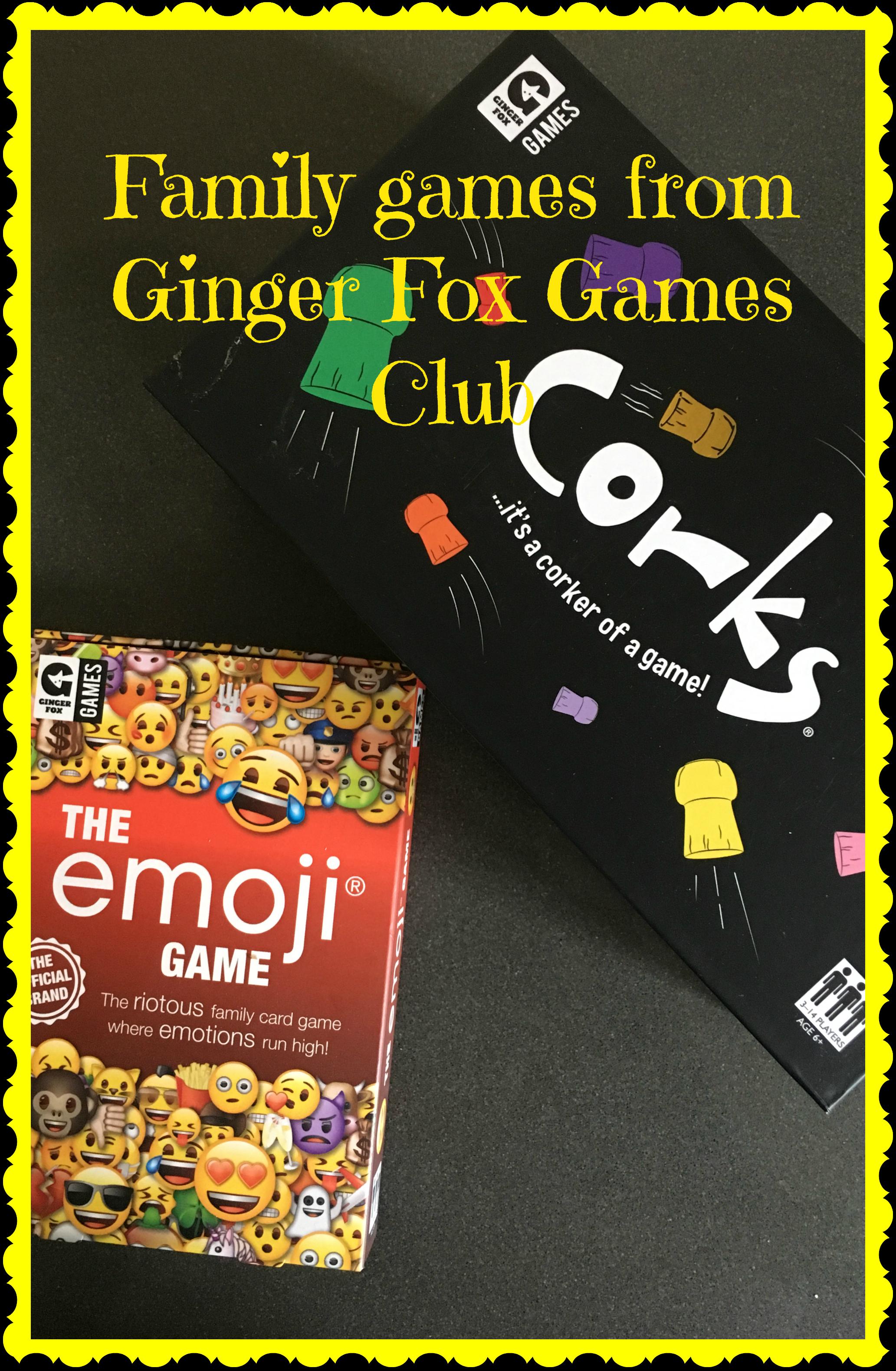 Ginger Fox Corks Game
