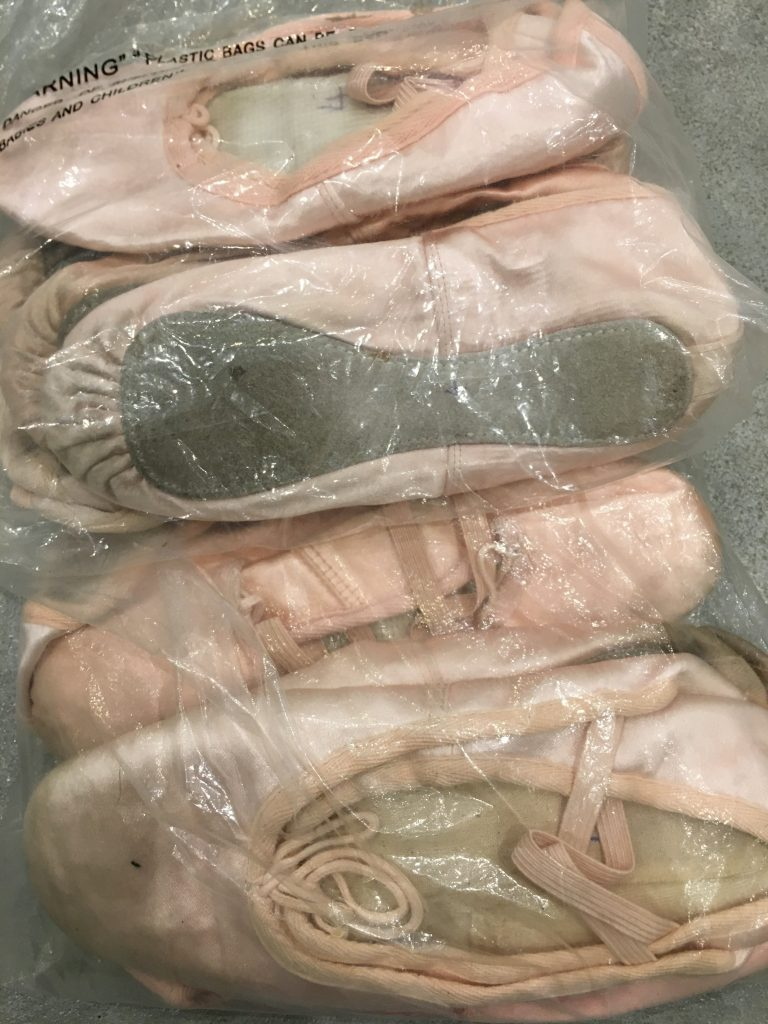 ballet shoes, daughter, audition, 365