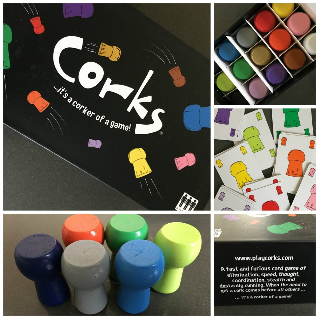 Corks, Corks game, Corks review, Ginger Fox Games Club