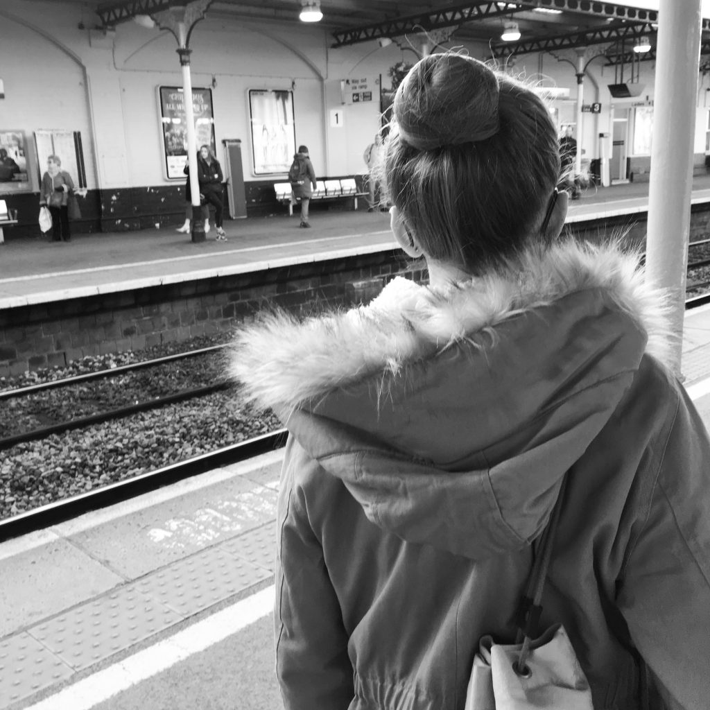 Daughter, Railway station, Royal Ballet audition, Silent Sunday, My Sunday Photo, Royal Ballet School Mid Associates audition