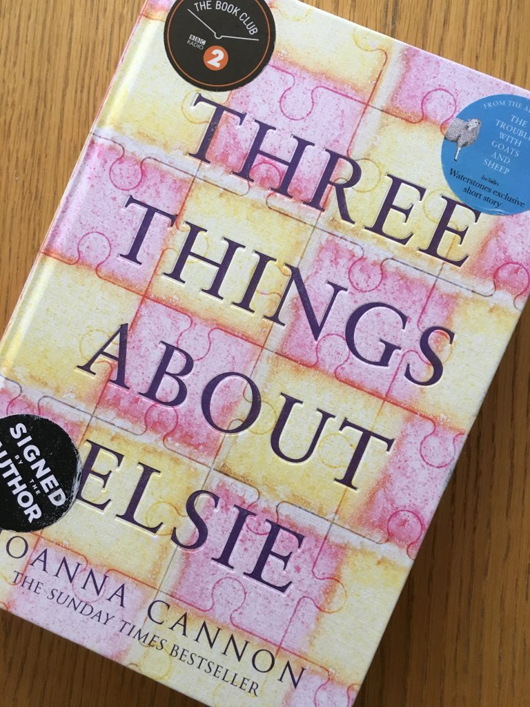 Three Things About Elsie, Book review, Joanna Cannon, Three Things About Elsie by Joanna Cannon