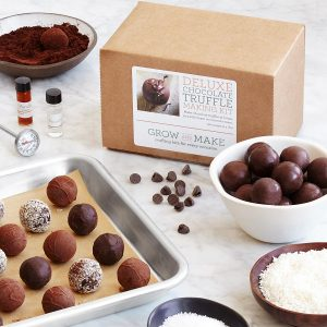 Gifts, Uncommon Goods, Gifts for Valentine's Day, Truffle making kit