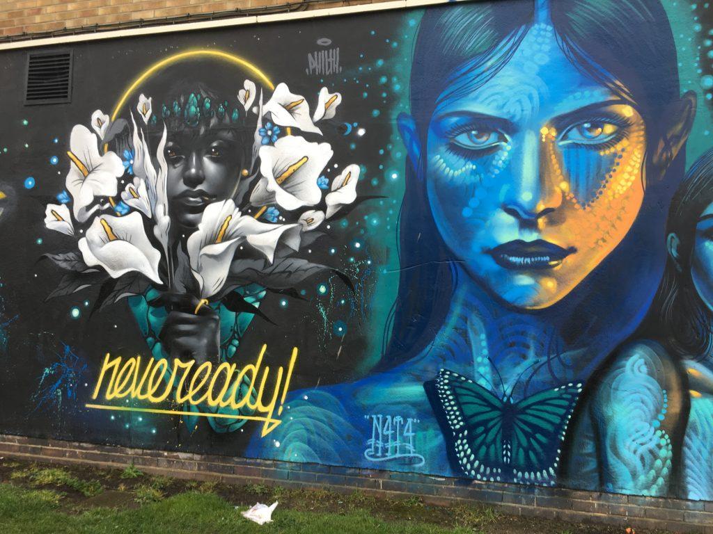 Street art, Cheltenham, Gloucestershire, 365