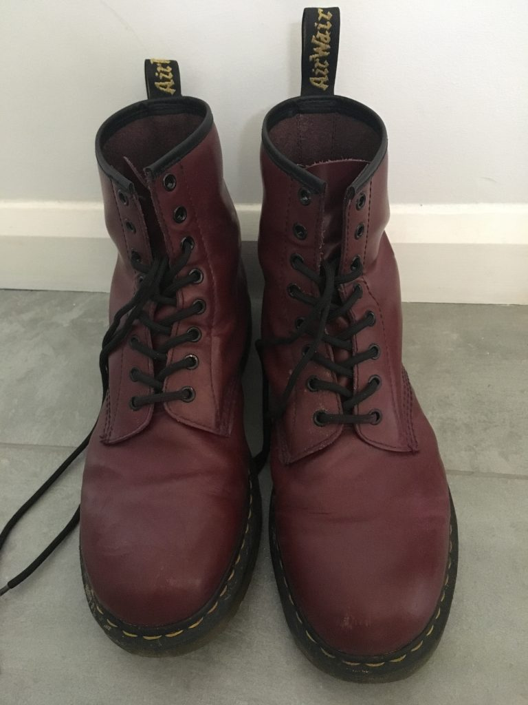 Doc Marten's, Boots, Son, Teenager, Chip off the old block