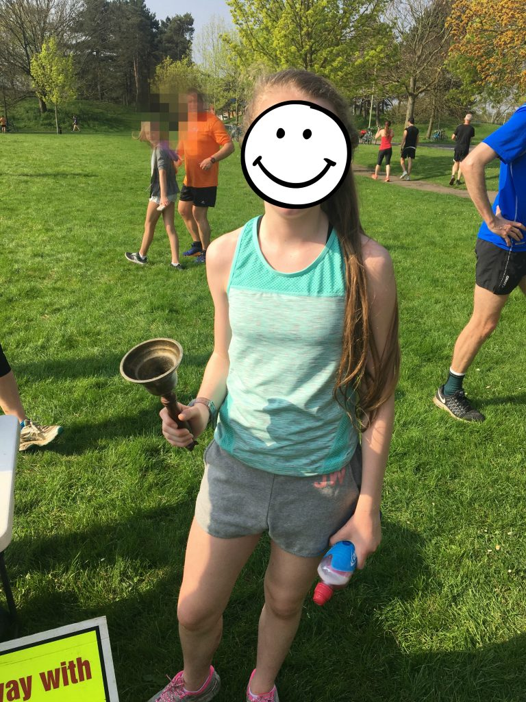 Daughter, parkrun, PB, runner, 365
