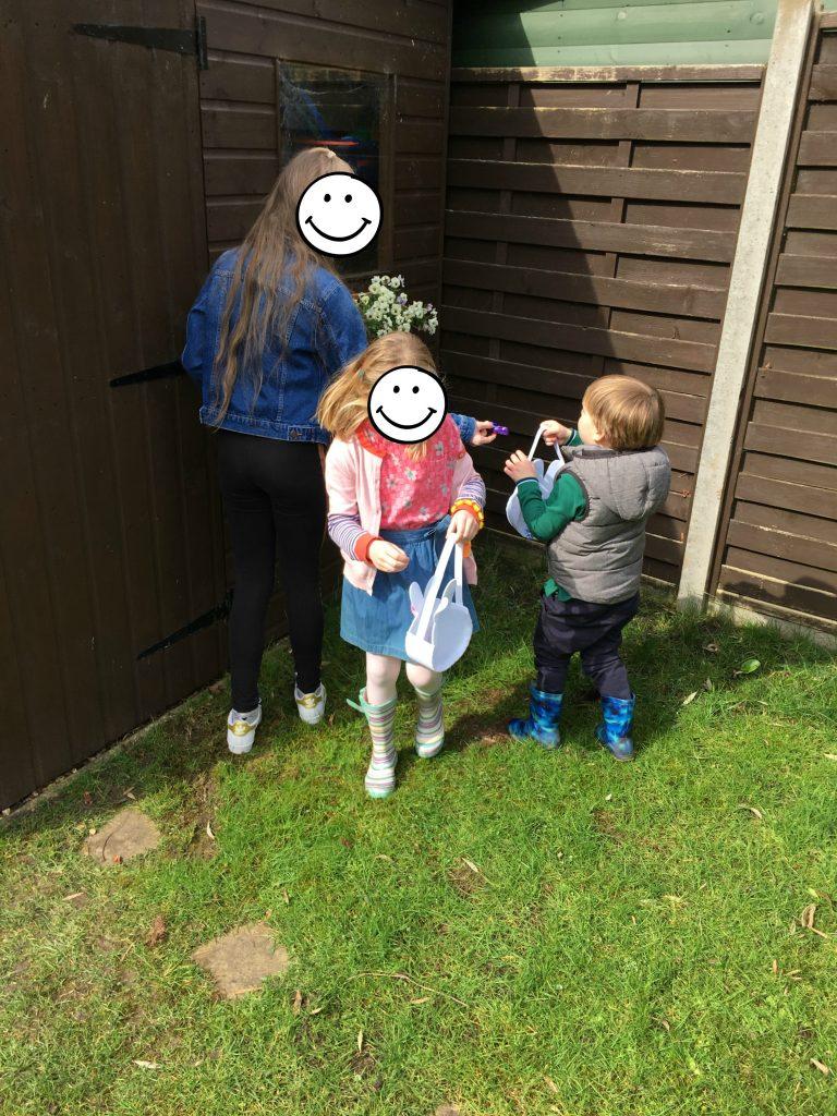 Easter, Easter egg hunt, Daughter, Niece, Nephew