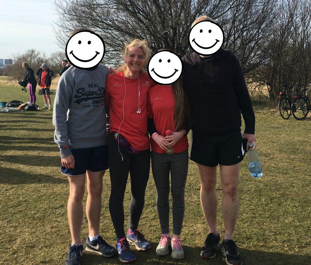 Parkrun, Family, Copenhagen, Denmark, Son, Daughter, Husband, Running