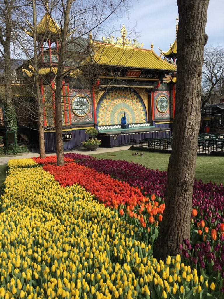 Tivoli Gardens, Copenhagen, Denmark, Holiday to Copenhagen