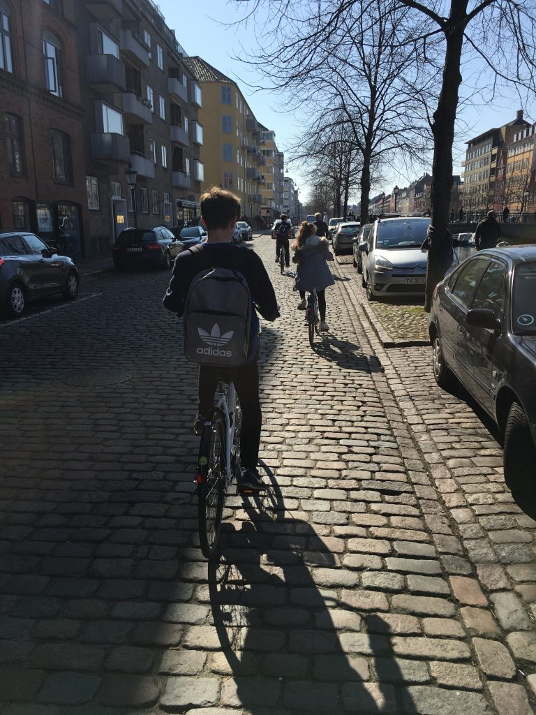 Cycling, Cycling in Copenhagen, Denmark, Holiday, Bikes, Family, Sons, Teenagers, Daughter