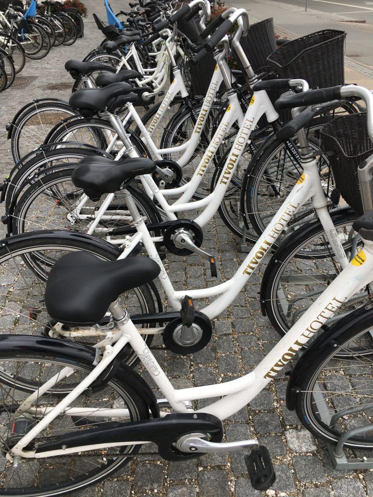 Bike hire, Copenhagen, Denmark, Cycling in Copenhagen, Tivoli Hotel