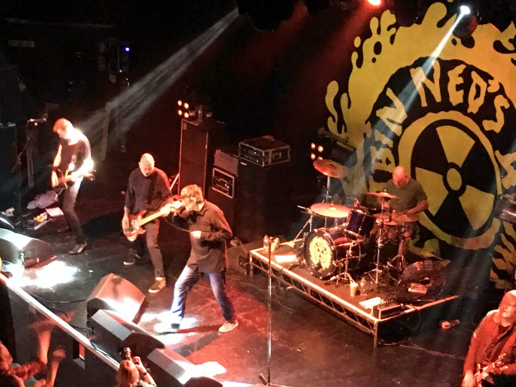 Ned's Atomic Dustbin, Concert, Gig, Ned's Atomic Dustbin Wonder Stuff and not growing old