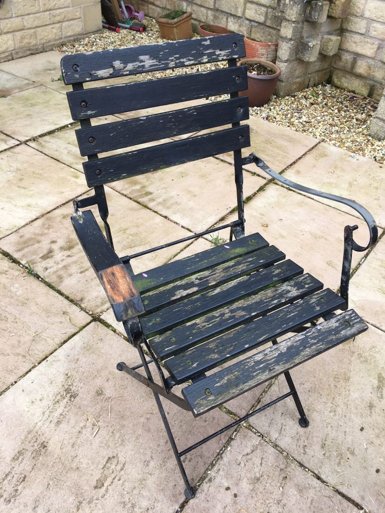 Garden chair, Garden furniture, Getting the garden ready for spring