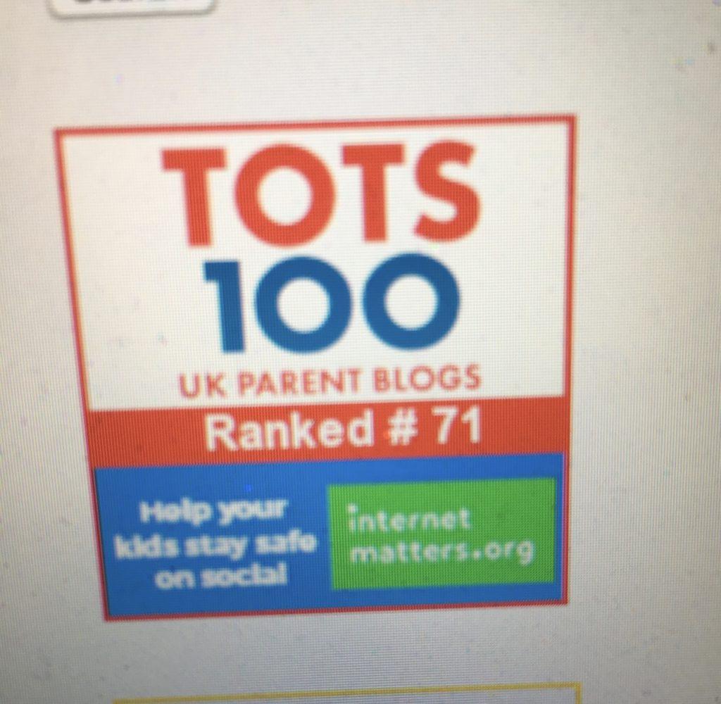 Tots 100, Blogging, Blogger, 365