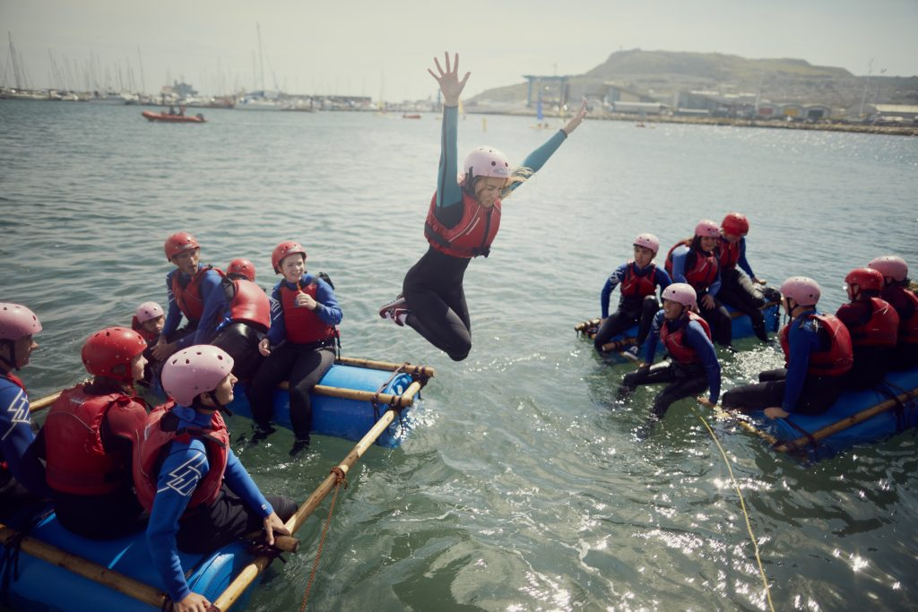 Watersports, NCS, Year 11, Teenagers, National Citizen Service