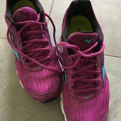 Tewkesbury half marathon trainers trouble