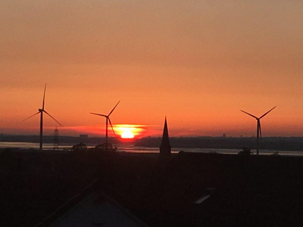 Sunset, Cheshire, Mersey, My Sunday Photo, Silent Sunday