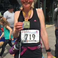 The Tewkesbury half marathon