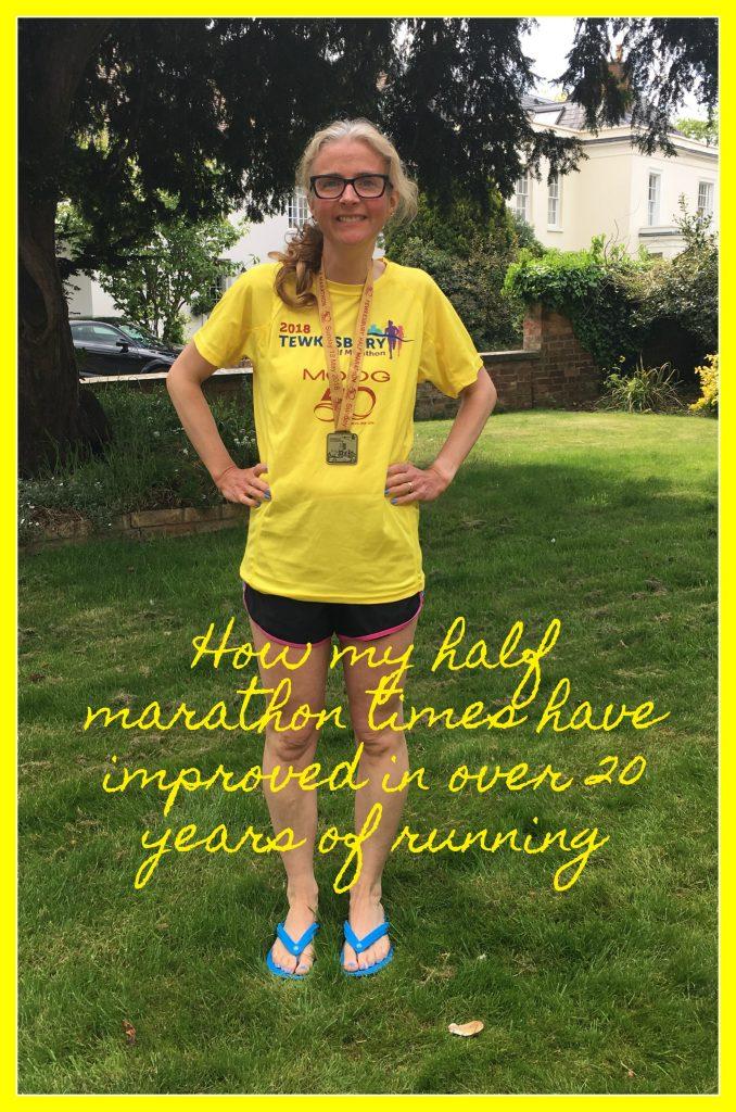Half marathons, How my half marathon times have improved in over 20 years of running, Running, Runner, Medal, Half marathon medal