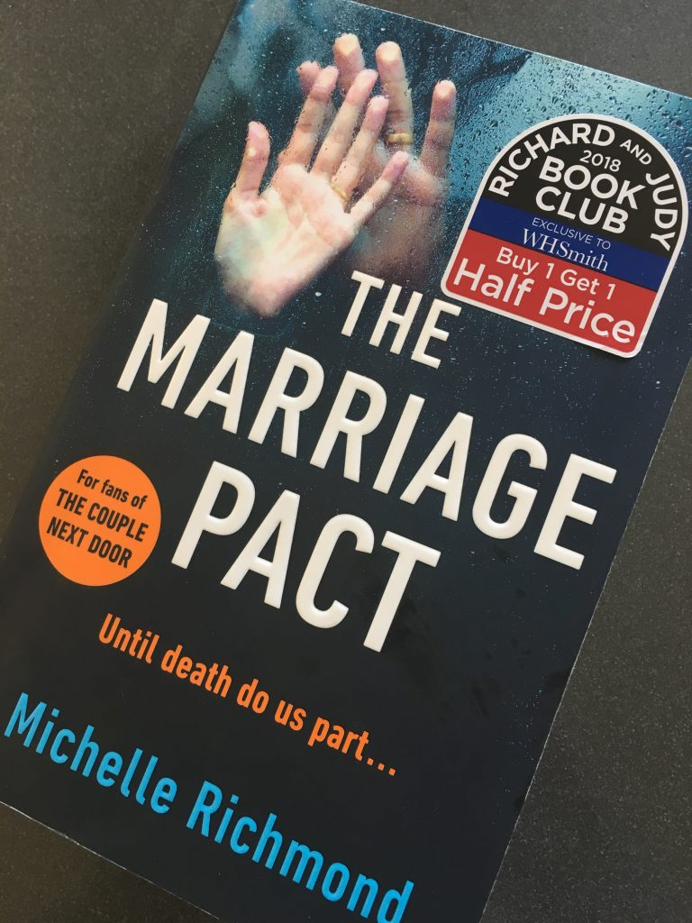 The Marriage Pact, Michelle Redmond, Book review, The Marriage Pact by Michelle Redmond