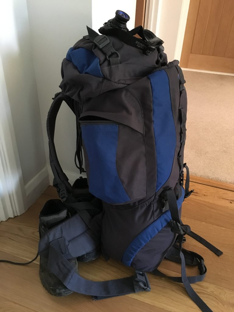 Rucksack, D of E, D of E Bronze expedition