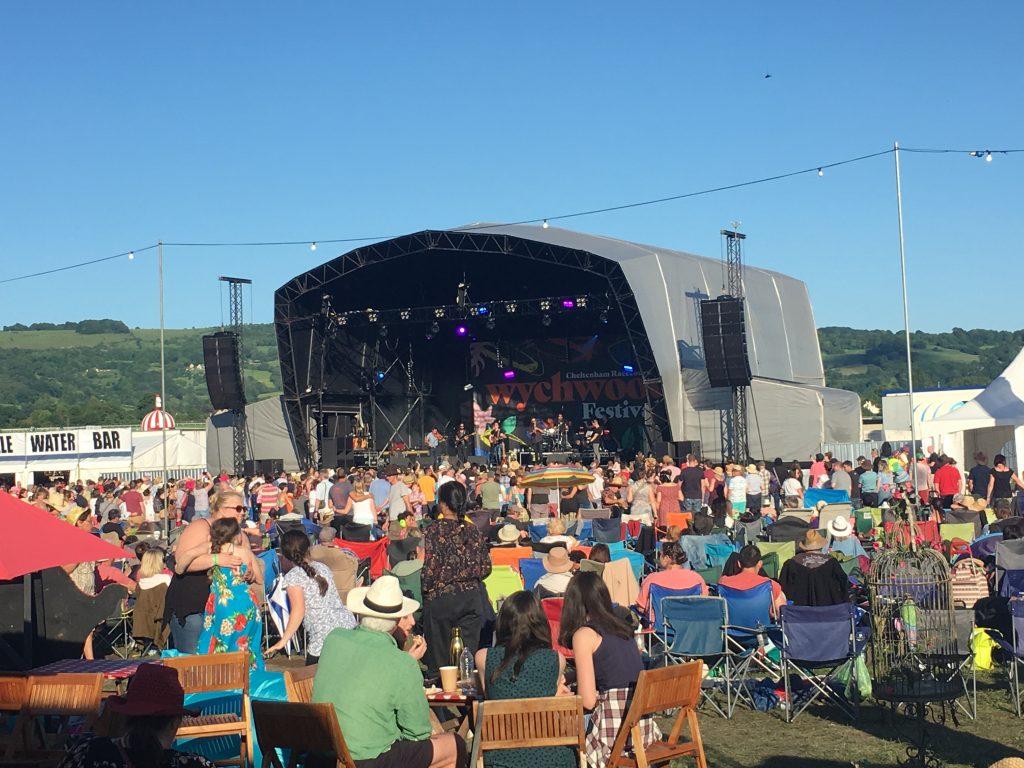 Wychwood Festival, Main stage, Cheltenham racecourse, 365