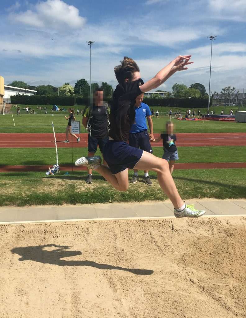 Son, Long jump, Athlete, Athletics, The athlete goes from strength to strength