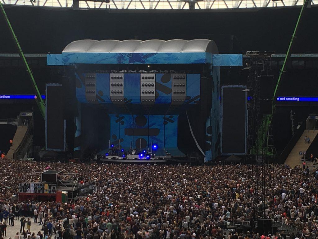 Stage, Ed Sheeran, Divide, Wembley, Ed Sheeran at Wembley
