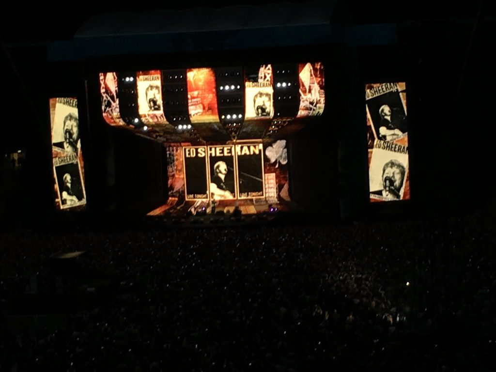 Ed Sheeran, Wembley, Silent Sunday, My Sunday Photo