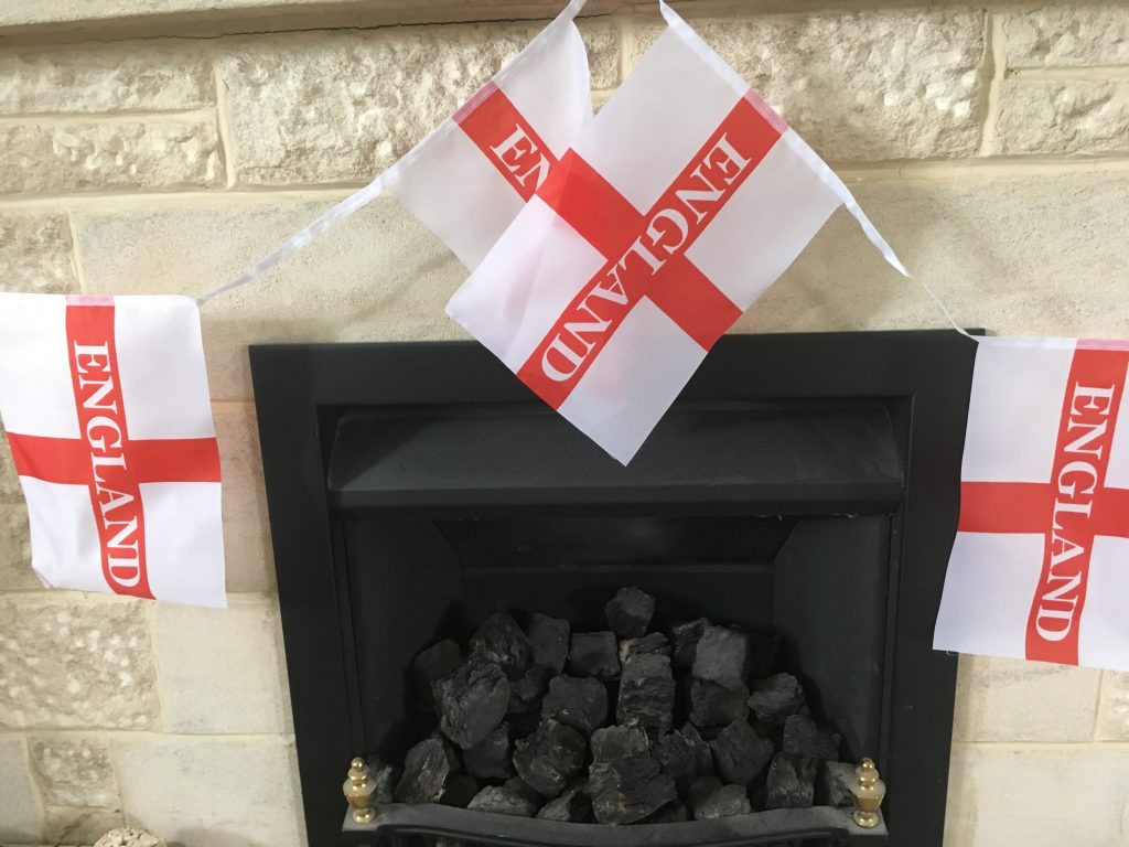 England flags, England, World Cup