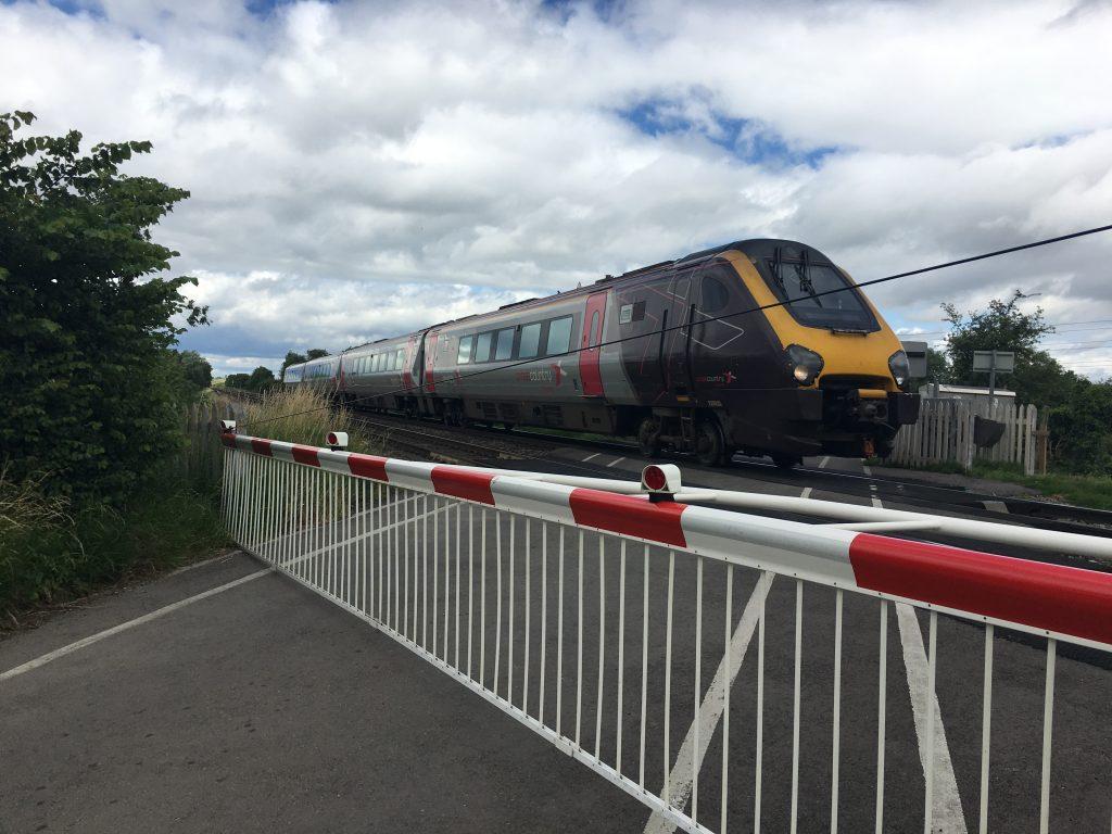 Railway, Level crossing, Silent Sunday, My Sunday Photo