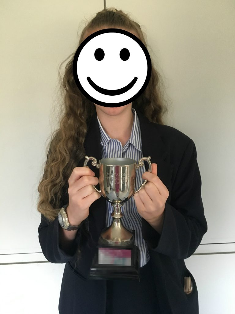 Daughter, School, Trophy, 365