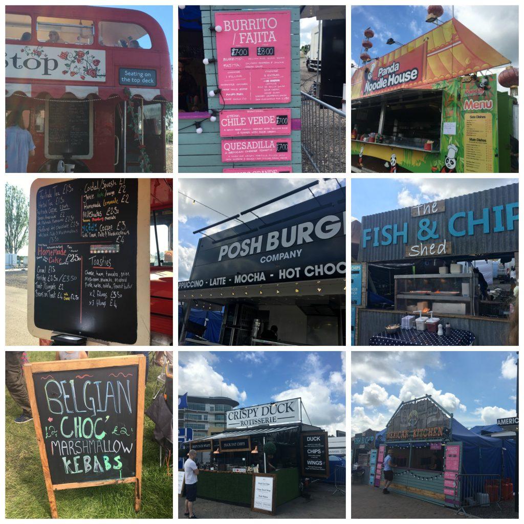 Wychwood Festival, Food, Festival food, Wychwood Festival food