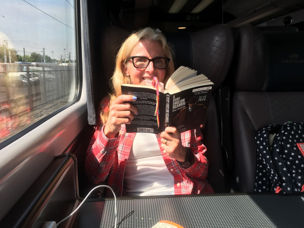 Train, Travel, Train travel, Reading, Book, London