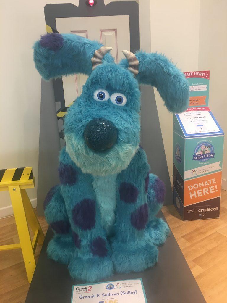 Gromit P Sullivan (Sulley), Gromit Unleashed 2, Gromit, Bristol, Gromit Unleashed 2 - my husband's first Gromit trail!, Cribbs Causeway