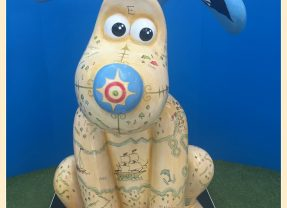 Gromit Unleashed 2 – my husband's first Gromit trail