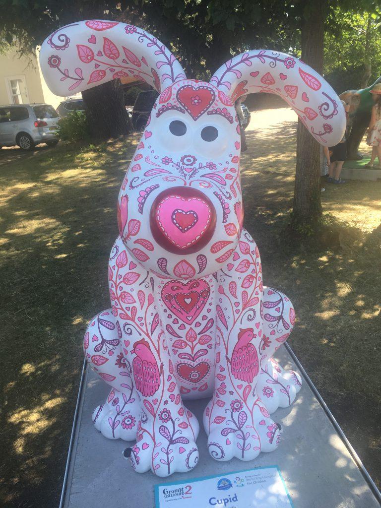 Cupid, Gromit Unleashed 2, Gromit, Bristol, Gromit Unleashed 2 - my husband's first Gromit trail!