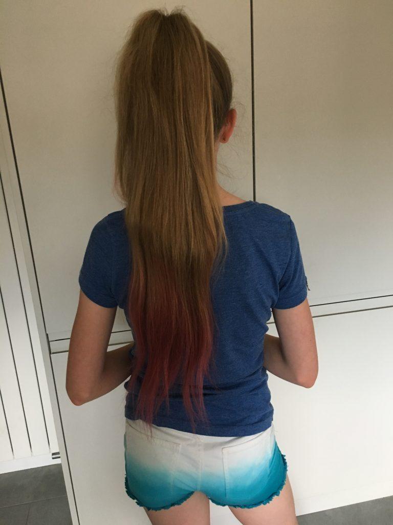 Daughter, Hair, Hair dye, Long hair, 365