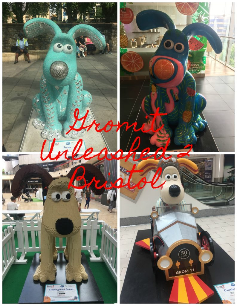 Gromit Unleashed 2, Gromit, Bristol, Return to Gromit Unleashed 2 (and being brave)