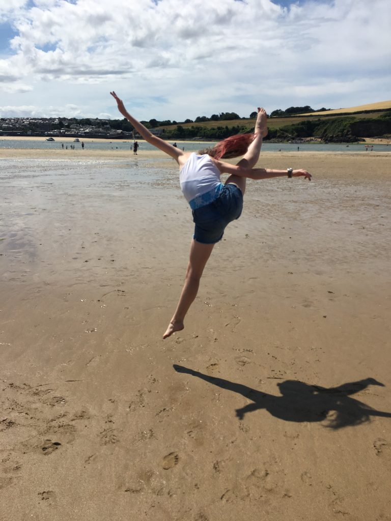 Daughter, Beach, Holiday, Cornwall, 365